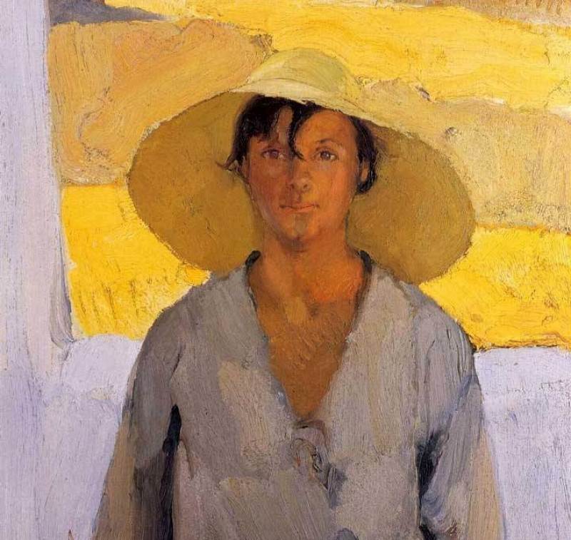 Nikolaos Lytras The straw hat