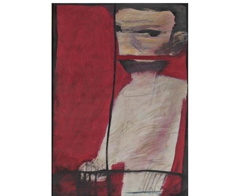 Polymeris Manolis -Figure in Red