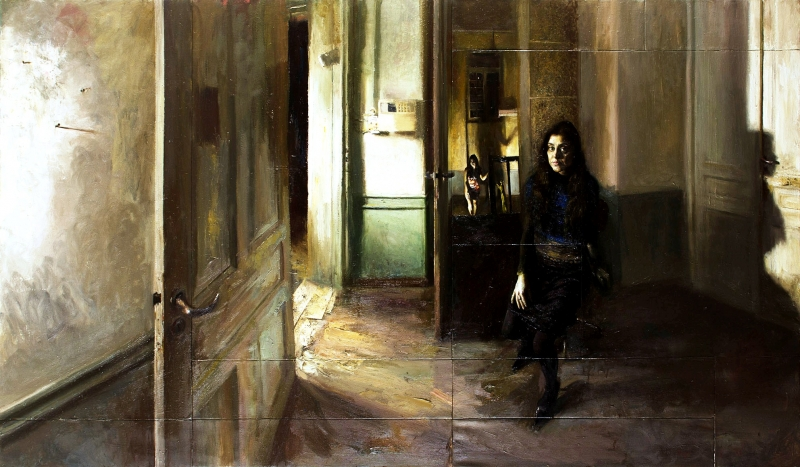"Giorgos Rorris, ""Girl in front of the mirror"", 2010"
