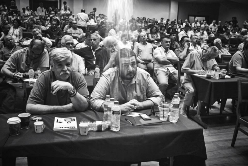 Central Committee of SYRIZA, Athens, 30.7.2015. Photo by Angelos Kalodoukas (source: left.gr)
