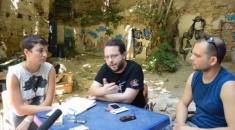 Blockupy goes Athens: Dimosthenis Papadatos, editor of rednotebook.gr